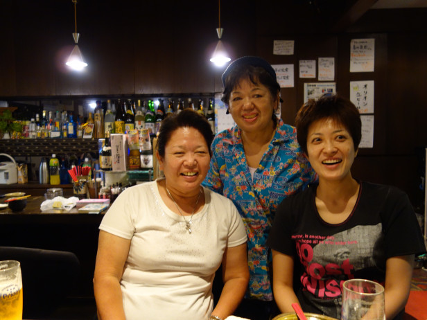 047 My friends Moriko, Masako & Kayo from Ishigaki, of course!!!DSC02319