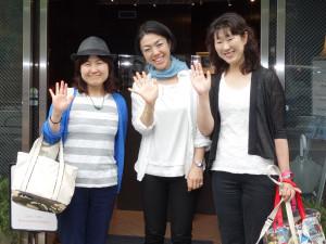 050 Mayumi, Mariko, Kayoko... See you soon!   DSC02370